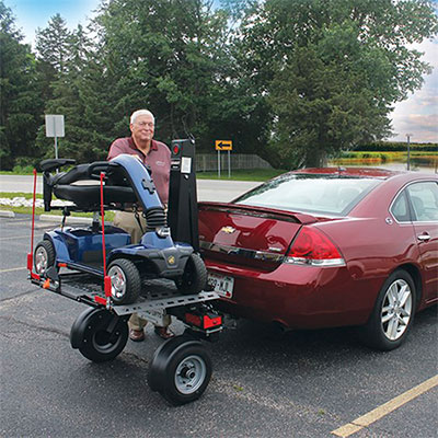 Wheelchair Carrier For Car >> Chariot Lift - Goldline Mobility