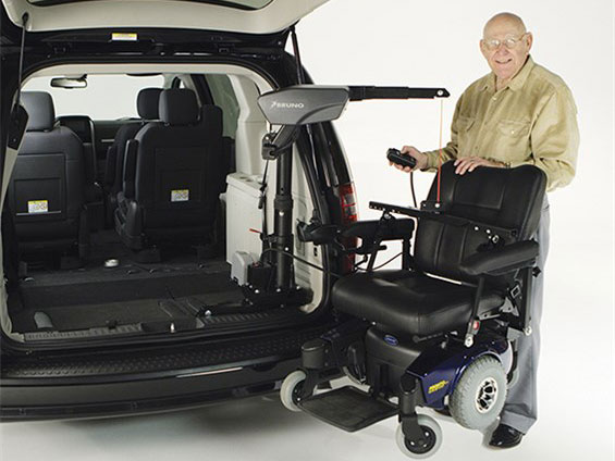 Mobility Equipment for Vans